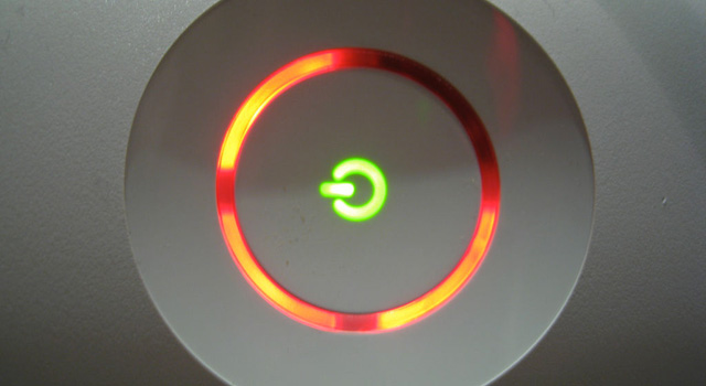 red ring of death 360