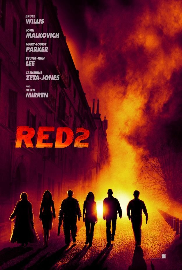 New Poster Debuts For RED 2