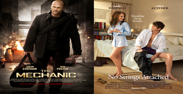 Red Band Trailers For No Strings Attached And The Mechanic