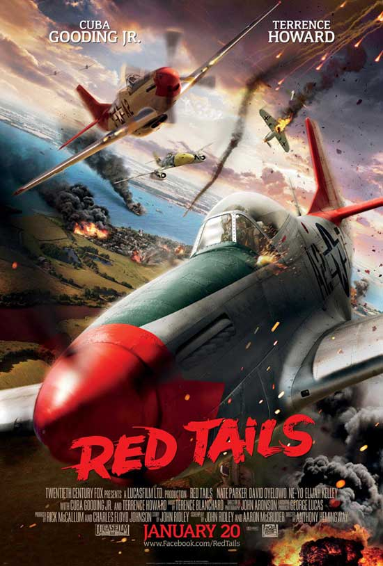 New Trailer And Poster For Red Tails