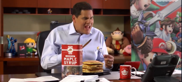 Nintendo Reveals Super Smash Bros. Club For Canada, Reggie Loves Pancakes