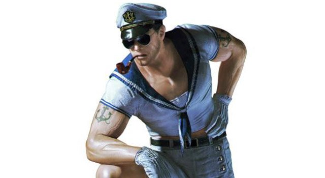 resident evil revelations chris hot sailor slider Resident Evil: Revelations Has An Unlockable Hot Sailor Outfit For Chris