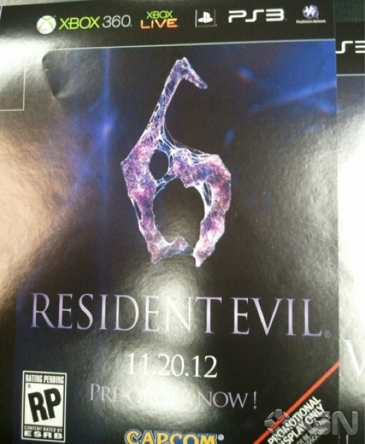 Resident Evil 6 Is Revealed; Sets Its Outbreak Date For November 20