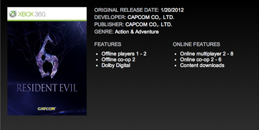 Will Resident Evil 6 Feature 6 Player Co-Op And 8 Player Multiplayer?