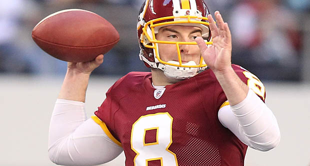 rexgrossmanredskins Washington QB Rex Grossman: Confident Or Delusional?