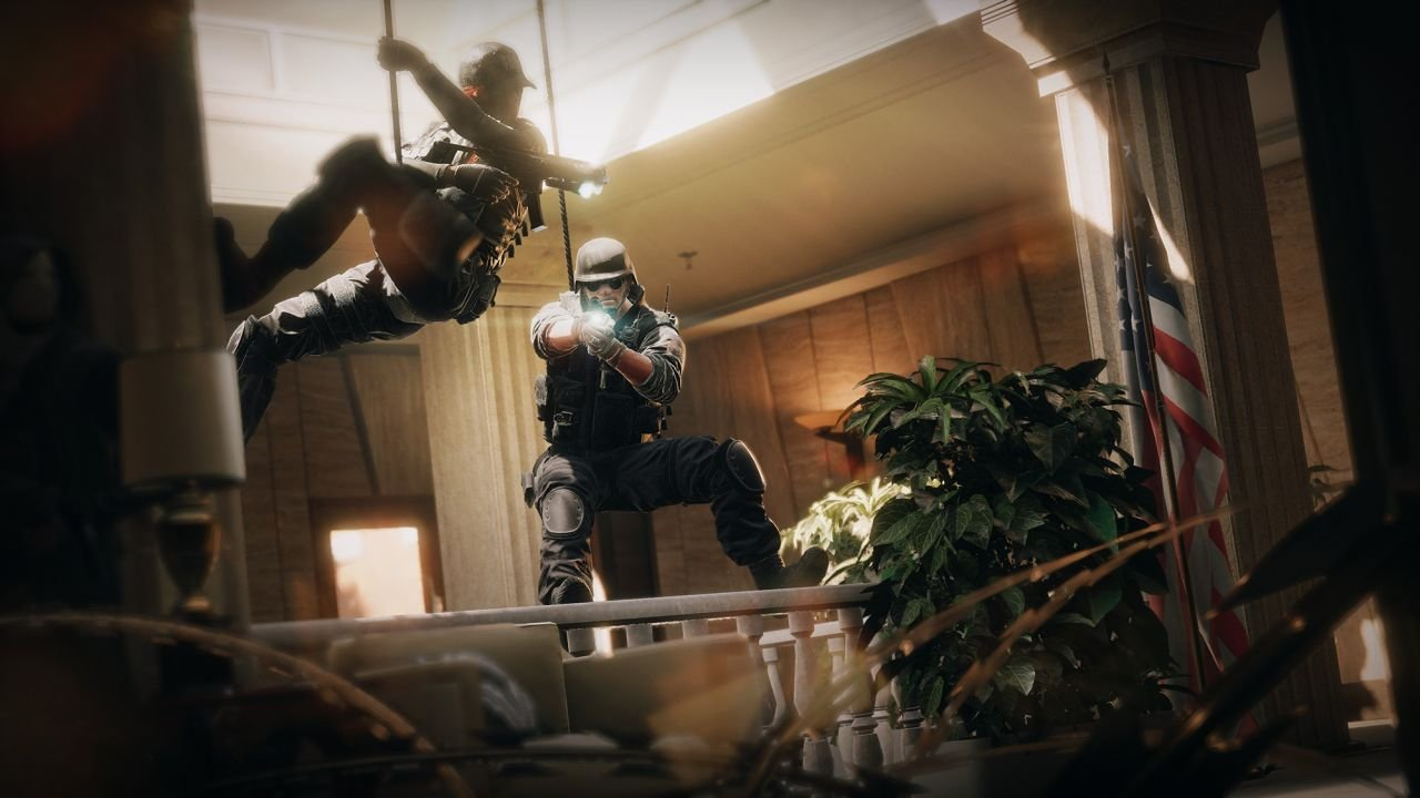 Rainbow Six Siege Gameplay Footage And Screenshots Tease Tactical Espionage Action