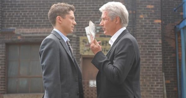 Richard Gere And Topher Grace In The Double Trailer