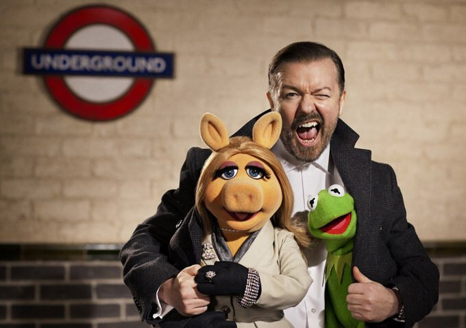 Muppets Most Wanted: Ricky Gervais
