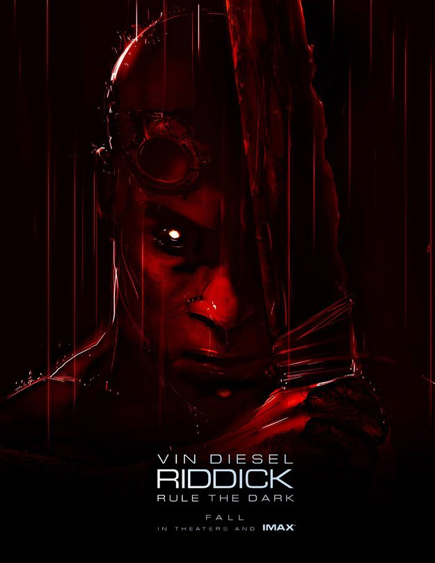 New International Trailer For Riddick, With Vin Diesel's Sexy Voice