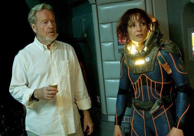Ridley Scott Says Noomi Rapace Won't Be A Part Of Alien: Covenant After All