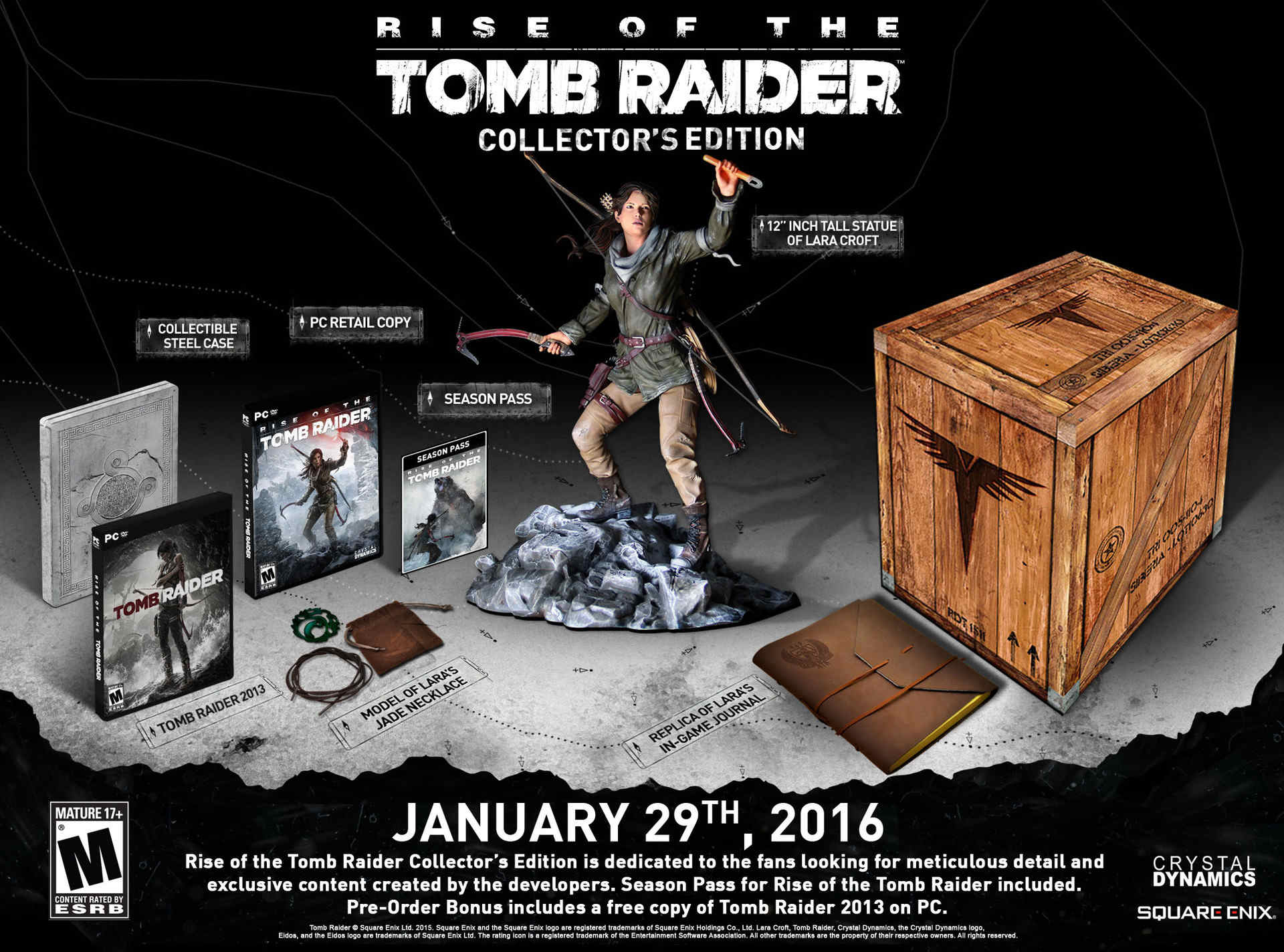 Rise Of The Tomb Raider Headed To PC Platforms Later This Month