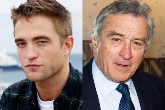 robert pattinson robert de niro