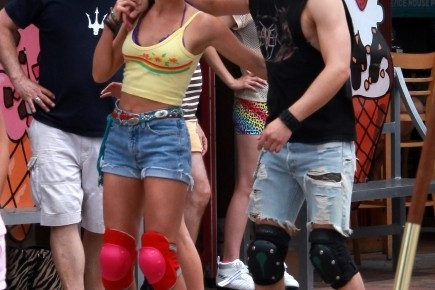 First Set Pictures From Rock Of Ages