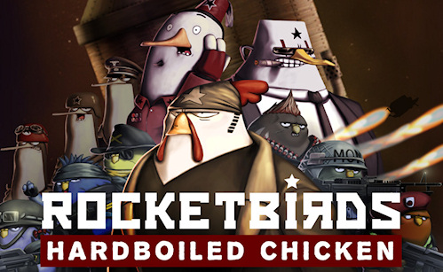 Rocketbirds: Hardboiled Chicken: Now On A PlayStation 3 Near You