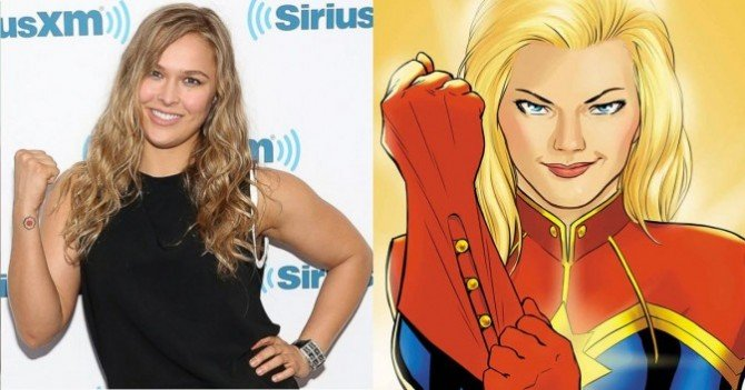 Ronda Rousey Is Interested In Playing Captain Marvel