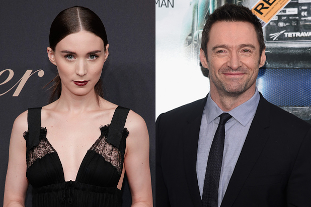 Hugh Jackman And Rooney Mara In For Collateral Beauty From Me & Earl & The Dying Girl Breakout