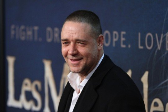 russell crowe at les mis premiere 540x360 The Weinstein Company Circles The Water Diviner