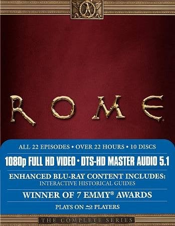 Rome: The Complete Series Blu-Ray Review