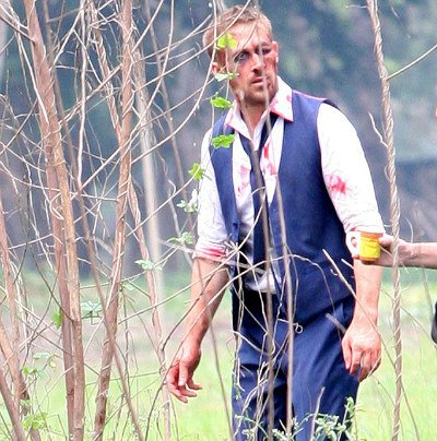 Check Out Ryan Gosling On The Set Of Only God Forgives