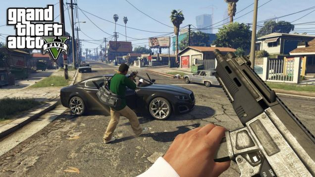 grand theft auto v first person