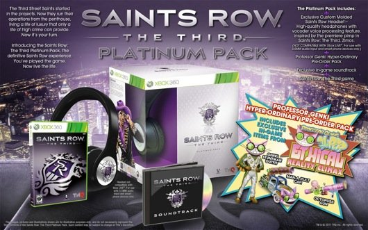 Talk Like A Robot Thanks To The Saints Row: The Third Platinum Edition
