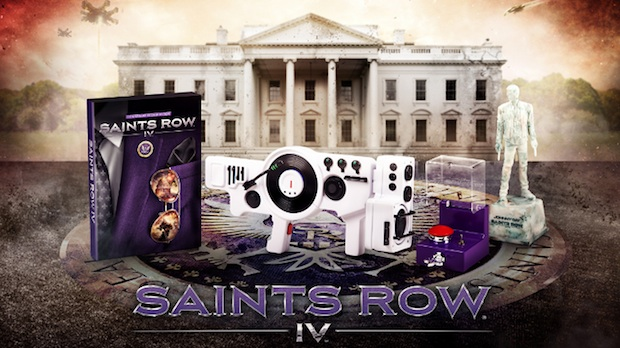Saints Row IV Getting Collector's Edition, Complete With Dubstep Gun