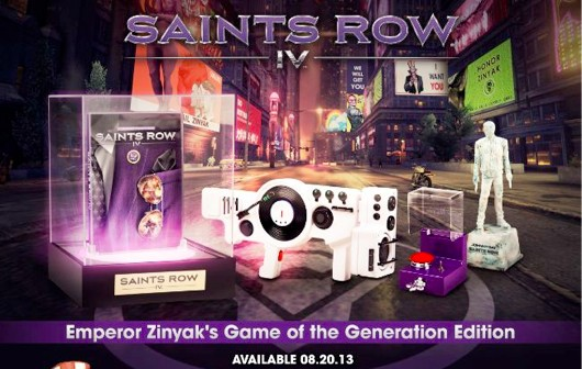 Saints Row IV Game Of The Generation Edition Announced; Offers Lit Display Case