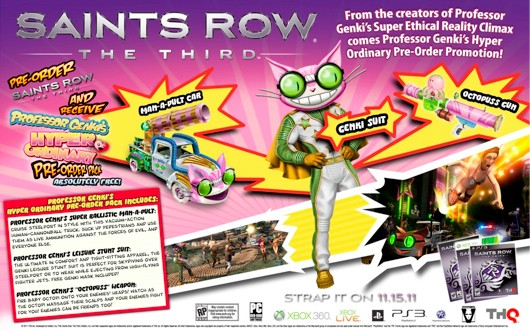 Saints Row: The Third Gets Crazier With Pre-Order Bonus Details