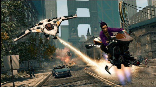 Saints Row: The Third Gangstas In Space DLC Dated For February 21