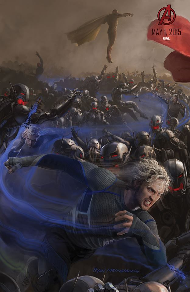 Vision, Quicksilver, And Hawkeye Get Avengers: Age Of Ultron Posters