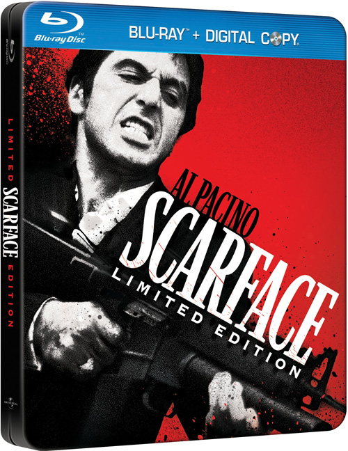 Scarface Limited Edition Steelbook Blu-Ray Review