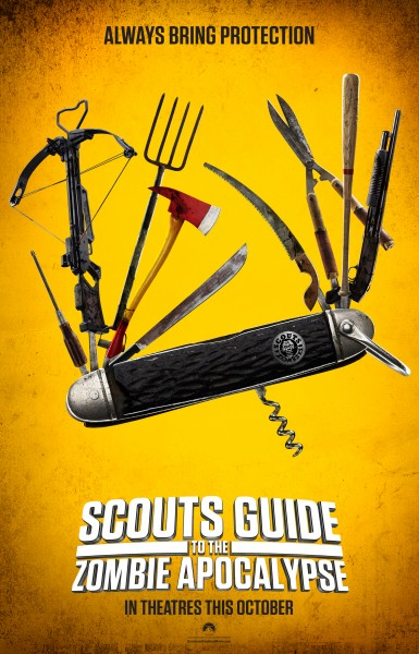 Be Prepared (For Carnage) In Scout's Guide To The Zombie Apocalypse Clips, Poster