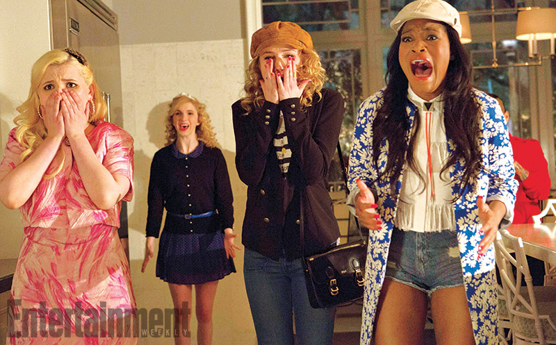 First Images And Plot Details Arrive For Scream Queens