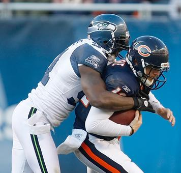 Chicago Bears Pass Protection Issues Are A Team Effort
