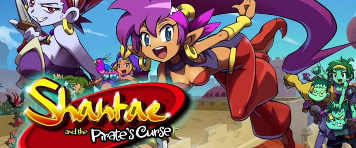Shantae And The Pirate's Curse Is Releasing Next Month, Will Be Updated For The New 3DS