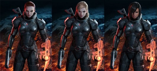 Want To Help Pick Female Shepard's Default Look In Mass Effect 3?