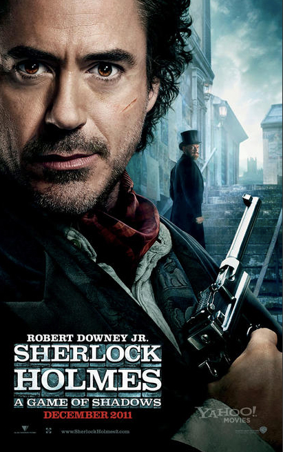 New Posters For Sherlock Holmes: A Game Of Shadows