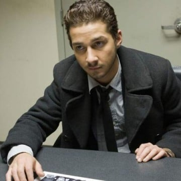 Shia LaBeouf Attached To Horns