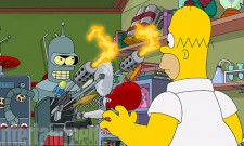 Watch The Couch Gag From The Simpsons And Futurama Crossover Simpsorama