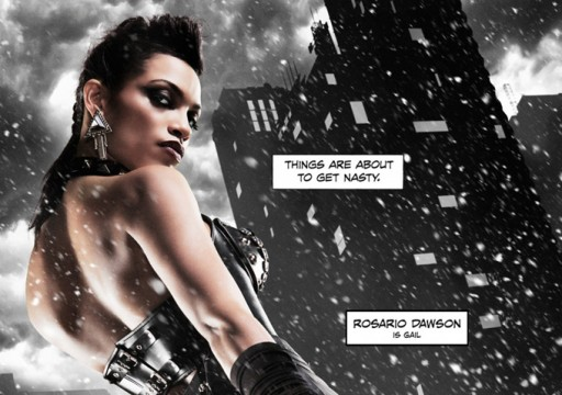 Rosario Dawson Has A Nasty Surprise In First Sin City: A Dame To Kill For Clip