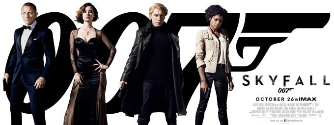 Stunning New Skyfall Poster Unveiled