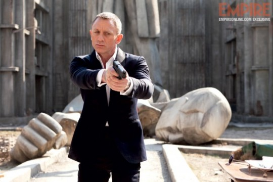 New Skyfall Poster Arrives From Across The Pond