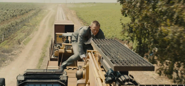 First Clip From Skyfall Premieres