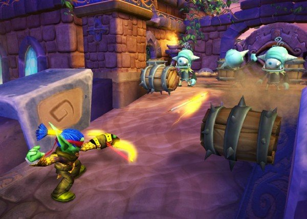 Skylanders: Spyro's Adventure Hands-On Preview [Sony Holiday 2011]