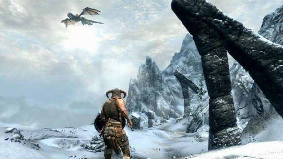 Watch 20 Minutes Of Skyrim Gameplay