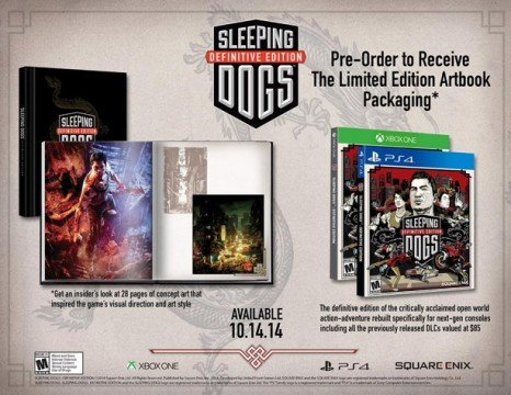 Sleeping Dogs: Definitive Edition Gets Amazon Listing, October Release Date