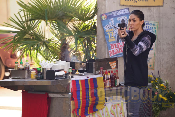Agents Of S.H.I.E.L.D. Still Provides First Look At Natalia Cordova-Buckley As Slingshot