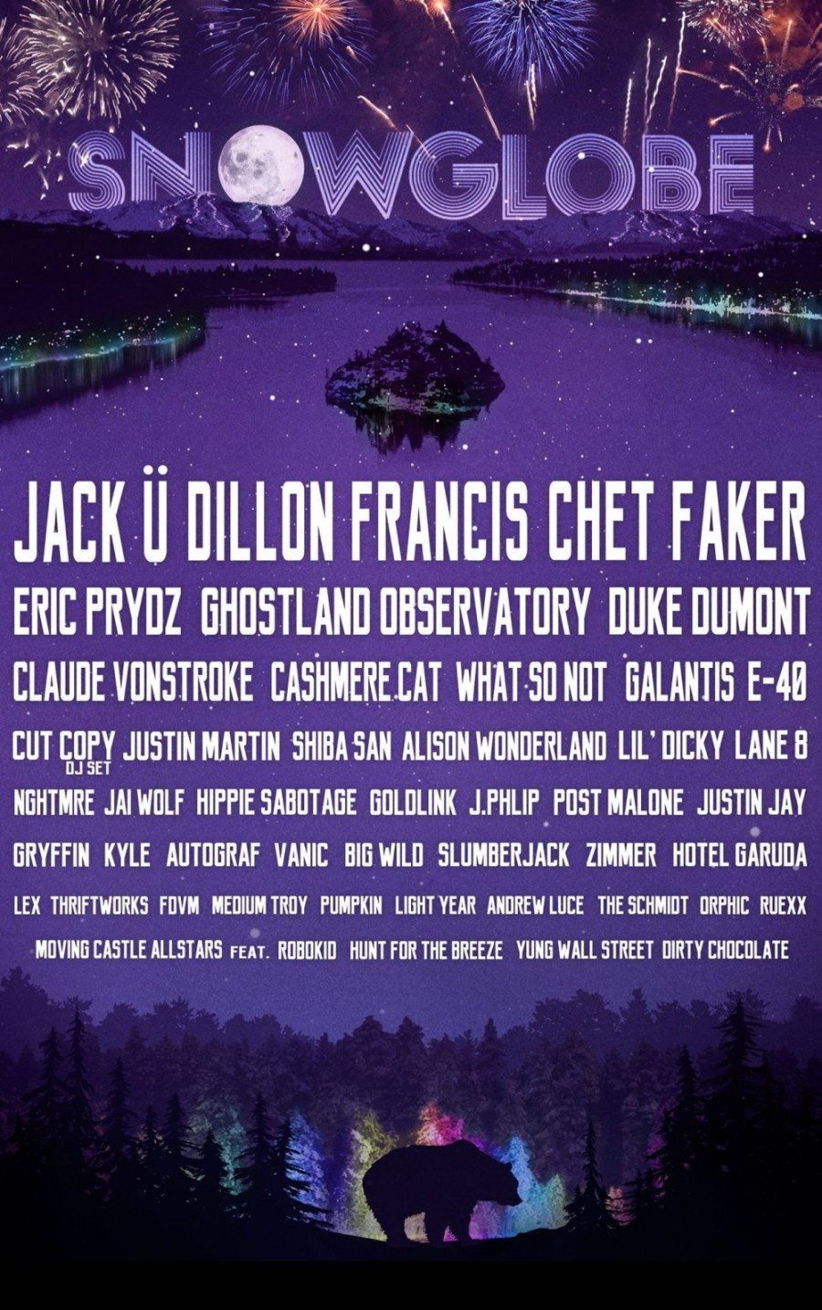 SnowGlobe's 5th Anniversary Lineup Is Huge