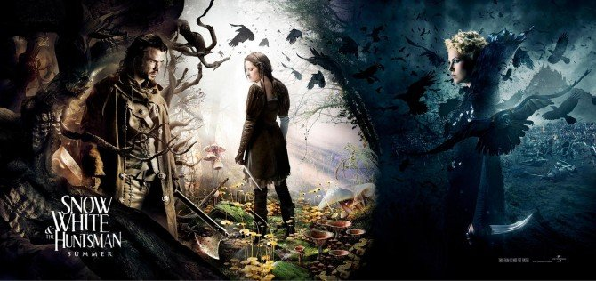New Photos Released From Snow White And The Huntsman