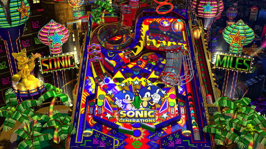Sonic Generations Pinball DLC Dated For PC